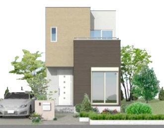 新企画型住宅「YAMATO casa STYLE」 Style01外観イメージ