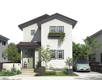 新企画型住宅「YAMATO casa STYLE」 Style02外観イメージ
