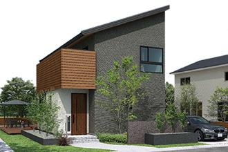 新企画型住宅「YAMATO casa STYLE」 Style03外観イメージ