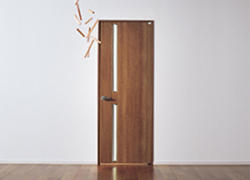 デザイン性の高い内装ドア