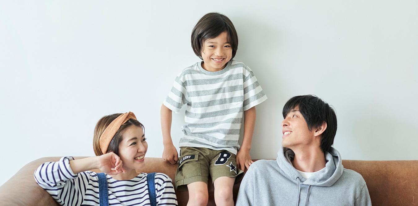 家族写真。